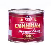 Свинина ЧПК Тушкована 525г ж/б
