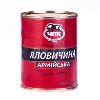 Яловичина ЧПК Армійська командирська в/с ж/б 340г х8