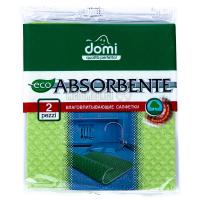 Серветки Domi антибактеріальні 2шт х6