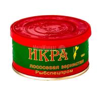 Ікра лососева Рибспецпром зерниста ж/б 130г х25