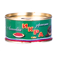 Ікра лососева Рибкоппродукт зерниста Сахалінка з/б 120г