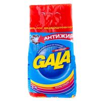 Пральний порошок для кольорових тканин Gala 3в1 Антижир Яскраві Кольори Автомат, 3 кг