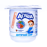 Сир Агуша кисломолочний Класичний 4,5% 100г
