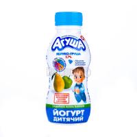Йогурт Агуша питний Яблуко-груша 2,7% 200г х24