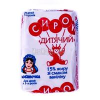 Сир Слов'яночка ванілін 15% 90г