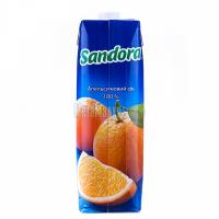 Сік Sandora апельсиновий 100% 0,95л