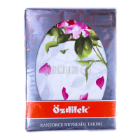 Комплект постільний Ozdilek Buket pink 1,5-сп. 72-138-052