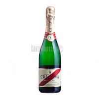 Вино ігристе Cricova Cuvee Prestige біле брют 0.75л х3.