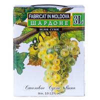 Вино Alianta B&B Шардоне біле сухе 3л