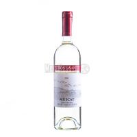 Вино Bostavan Muscat напівсолодке біле 0,75л х6