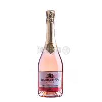 Вино ігристе Багратиони рожеве нап/солодке 0,75л х3