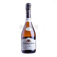 Вино ігристе Багратиони біле напівсухе резерв 0,75л х3