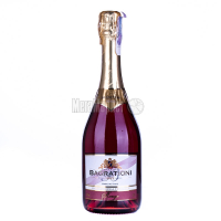 Вино ігристе Багратиони червоне н/солод. 0,75л х3.