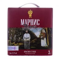 Вино Marani Марніс червоне сухе 3л х2