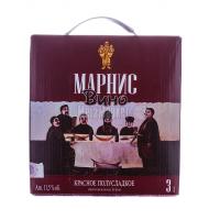 Вино Marani Марніс червоне напівсолодке 3л х2