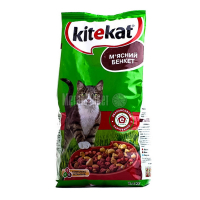 Корм Kitekat мясний бенкет 2,4кг х6