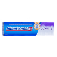 Зубна паста Blend-A-Med Dual action white 100млх6