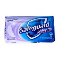 Мило антибактеріальне тверде Safeguard Dellicate Делікатне, 90 г