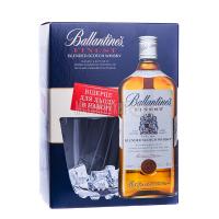 Віскі Ballantine`s Finest 1л коробка+відерце для льоду