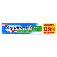 Зубна паста Aquafresh 3 Mild&Minty 125мл х6