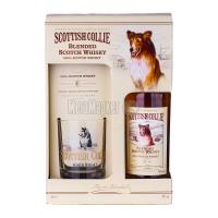 Віскі Scottish Collie 40% 0,5л+келих (набір) х6