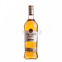 Ром Bacardi Gold 40% 0,75л +2келиха у подар.коробці