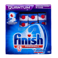 Таблетки для посудомийних машин Finish Calgonit Quantum Powerball, 40 шт.