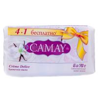 Мило туалетне тверде Camay Creme Delice, 5 шт.*75 г