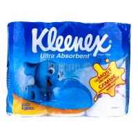 Рушники паперові рулонні Kleenex Ultra Absorbent, 3 шт.
