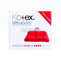 Тампони Kotex Ultra Sorb Super 8шт х6