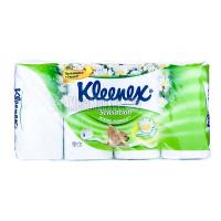 Туалетний папір Kleenex Sensation Ніжна ромашка 8шт