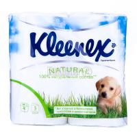 Туалетний папір Kleenex Natural 4шт х6