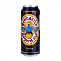 Пиво Newcastle Brown Ale з/б 0,5л