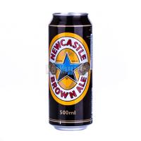 Пиво Newcastle Brown Ale з/б 0,5л