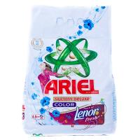 Пральний порошок для кольорових тканин Ariel Чистота DeLuxe+Lenor fresh Color Automat, 4,5 кг