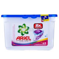 Капсули для делікатного прання кольорових тканин Ariel Color & Style, 23 шт.