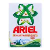 """Пральний порошок Ariel Чистота DeLuxe """"Гірське джерело"""" Automat, 450 г"""