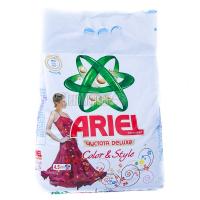 Пральний порошок для кольорових тканин Ariel Чистота DeLuxe Color & Style Automat, 4,5 кг
