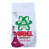 Пральний порошок для кольорових тканин Ariel Чистота DeLuxe Color & Style Automat, 6 кг