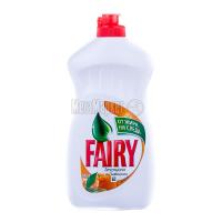 Засіб для посуду Fairy plus Апельсин/лимонник 500мл х21