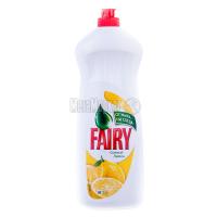 Засіб для посуду Fairy plus Соковитий лимон 1000мл х6