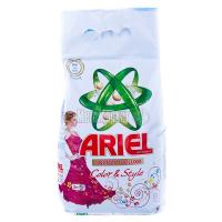 Пральний порошок для кольорових тканин Ariel Чистота DeLuxe Color & Style Automat, 3 кг