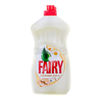 """Рідкий засіб для миття посуду Fairy Ніжні Руки """"Ромашка та Вітамін Е"""", 500 мл"""