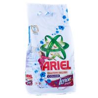 Пральний порошок для кольорових тканин Ariel Чистота DeLuxe Color+Lenor fresh Automat, 3 кг