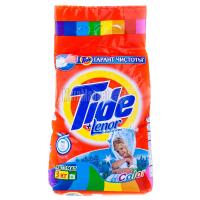 Пральний порошок для кольорових тканин Tide Color+ Lenor touch of scent Automat, 3 кг