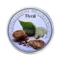 Печиво Jacobsen Tivoli Грушеве з мол. шоколадом 150г х24