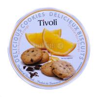 Печиво Jacobsen Tivoli Апельсинове з темн.шоколадом 150г х24