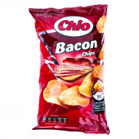 Чіпси Chio Chips з беконом 150г х8