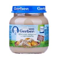 Пюре Gerber цвітна капуста й картопля 130г х6