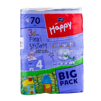 Підгузки Happy Bella Baby MAXI 8-18кг 70шт x6
